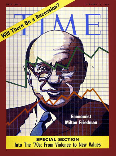 December 19, 1969: Friedman's curve shifts upward